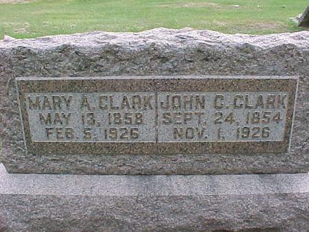 CLARK, JOHN C - Henry County, Iowa | JOHN C CLARK