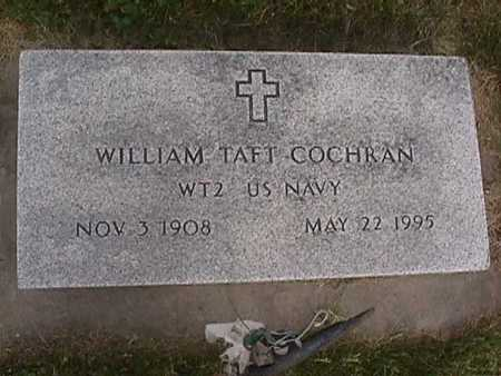 COCHRAN, WILLIAM TAFT - Henry County, Iowa | WILLIAM TAFT COCHRAN