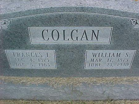 COLGAN, WILLIAM S - Henry County, Iowa | WILLIAM S COLGAN