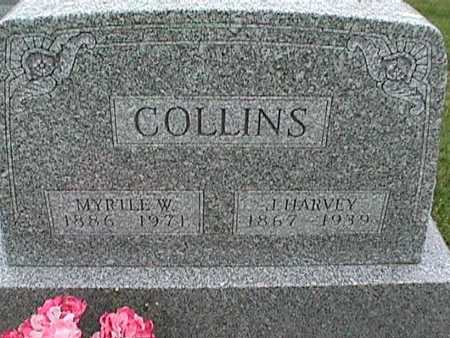 COLLINS, J. HARVEY - Henry County, Iowa | J. HARVEY COLLINS