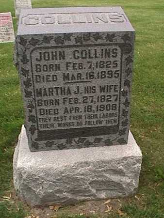 COLLINS, MARTHA - Henry County, Iowa | MARTHA COLLINS