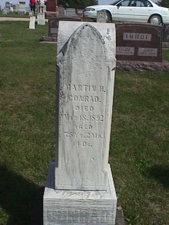 CONRAD, MARTIN H. - Henry County, Iowa | MARTIN H. CONRAD