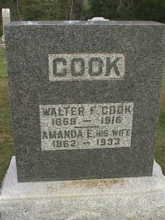 COOK, WALTER F - Henry County, Iowa | WALTER F COOK