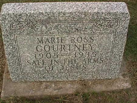 ROSS COURTNEY, MARIE - Henry County, Iowa | MARIE ROSS COURTNEY