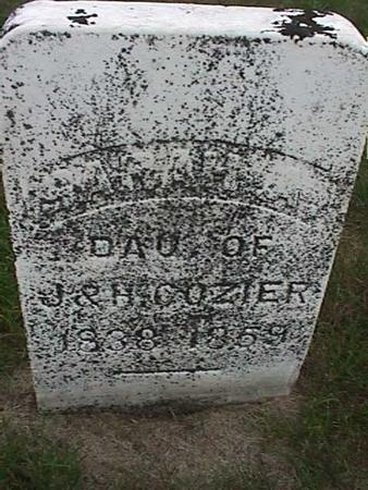COZIER, SARAH - Henry County, Iowa | SARAH COZIER
