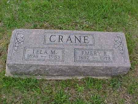 CRANE, LELA - Henry County, Iowa | LELA CRANE