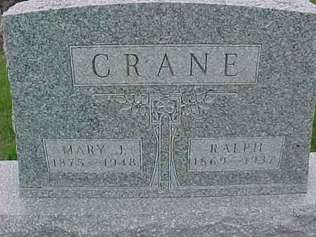 CRANE, MARY - Henry County, Iowa | MARY CRANE