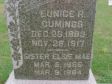 CUMINGS, ELSIE MAE - Henry County, Iowa | ELSIE MAE CUMINGS