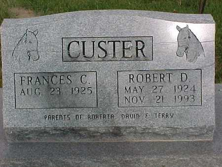 CUSTER, FRANCES - Henry County, Iowa | FRANCES CUSTER