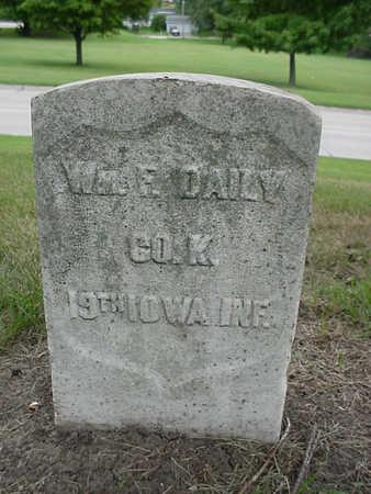 DAILY, WILLIAM F. - Henry County, Iowa   WILLIAM F. DAILY