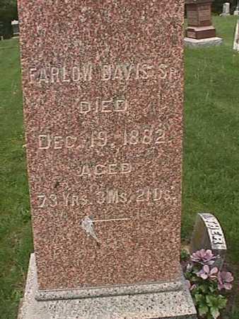DAVIS, FARLOW SR - Henry County, Iowa | FARLOW SR DAVIS
