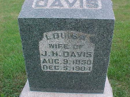 DAVIS, LOUISA - Henry County, Iowa | LOUISA DAVIS