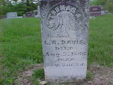 DAVIS, THOMAS - Henry County, Iowa | THOMAS DAVIS