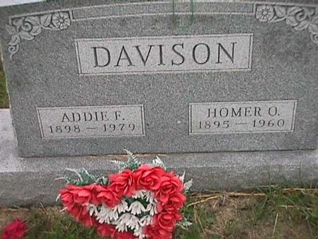 DAVISON, ADDIE - Henry County, Iowa | ADDIE DAVISON