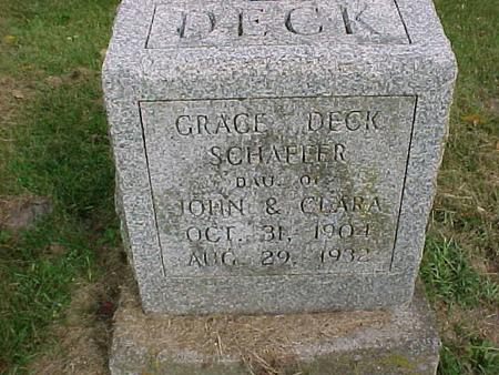 SCHAFFER, GRACE - Henry County, Iowa | GRACE SCHAFFER