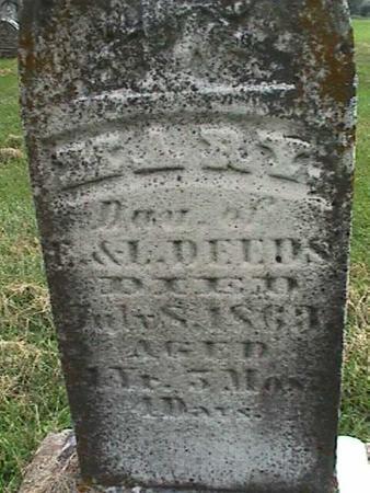 DEEDS, MARY - Henry County, Iowa   MARY DEEDS