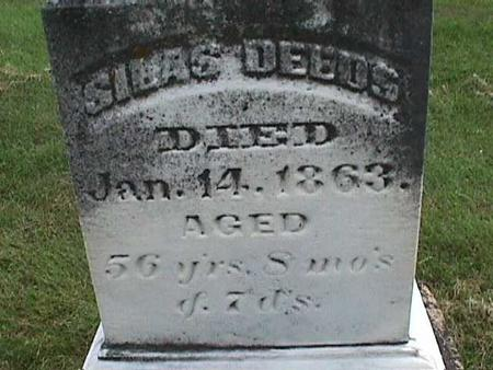 DEEDS, SILAS - Henry County, Iowa | SILAS DEEDS