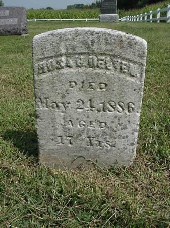DELVIN, ROSE B. - Henry County, Iowa   ROSE B. DELVIN