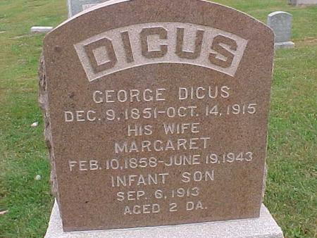 DICUS, INFANT SON - Henry County, Iowa | INFANT SON DICUS