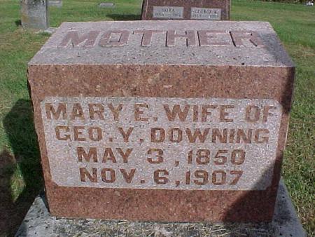 DOWNING, MARY E. - Henry County, Iowa | MARY E. DOWNING
