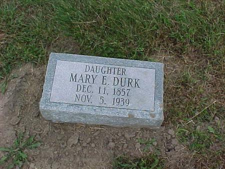 DURK, MARY - Henry County, Iowa | MARY DURK