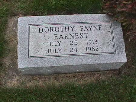 PAYNE EARNEST, DOROTHY - Henry County, Iowa | DOROTHY PAYNE EARNEST