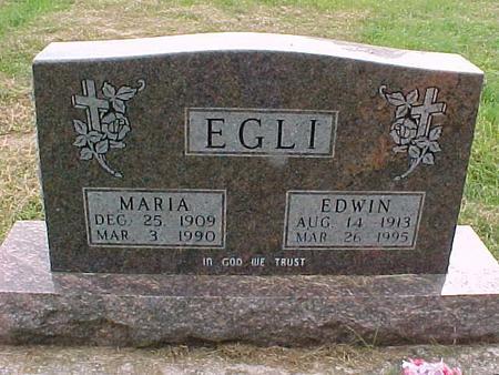 EGLI, MARIA - Henry County, Iowa | MARIA EGLI