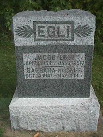 EGLI, JACOB - Henry County, Iowa | JACOB EGLI