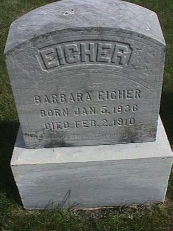 EICHER, BARBARA - Henry County, Iowa | BARBARA EICHER