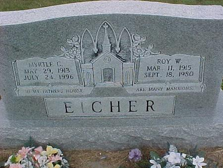 EICHER, ROY - Henry County, Iowa | ROY EICHER