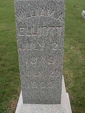 ELLIOTT, WILLIAM - Henry County, Iowa | WILLIAM ELLIOTT