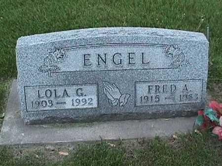 ENGEL, FRED - Henry County, Iowa | FRED ENGEL