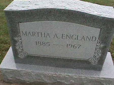 ENGLAND, MARTHA - Henry County, Iowa | MARTHA ENGLAND