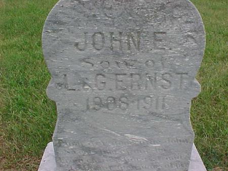 ERNST, JOHN - Henry County, Iowa | JOHN ERNST
