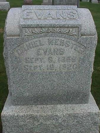 EVANS, DANIEL WEBSTER - Henry County, Iowa | DANIEL WEBSTER EVANS