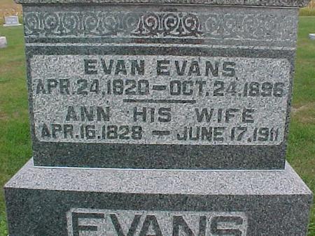 EVANS, EVAN - Henry County, Iowa | EVAN EVANS