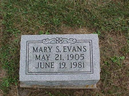 EVANS, MARY S. - Henry County, Iowa | MARY S. EVANS