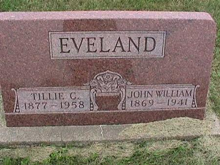 EVELAND, JOHN - Henry County, Iowa | JOHN EVELAND