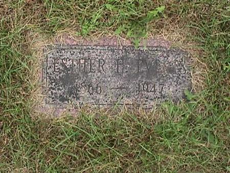 EVERTS, ESTHER - Henry County, Iowa | ESTHER EVERTS