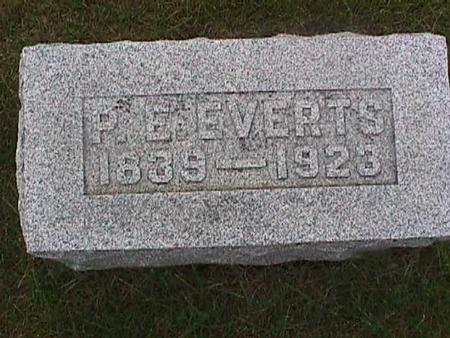 EVERTS, P. E. - Henry County, Iowa | P. E. EVERTS