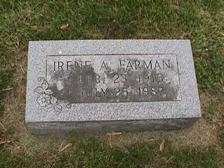 FARMAN, IRENE - Henry County, Iowa | IRENE FARMAN