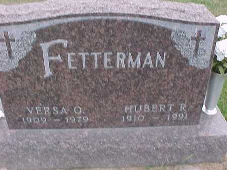FETTERMAN, HUBERT - Henry County, Iowa | HUBERT FETTERMAN