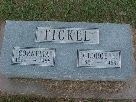 FICKEL, GEORGE - Henry County, Iowa | GEORGE FICKEL