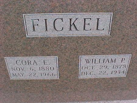 FICKEL, CORA - Henry County, Iowa | CORA FICKEL