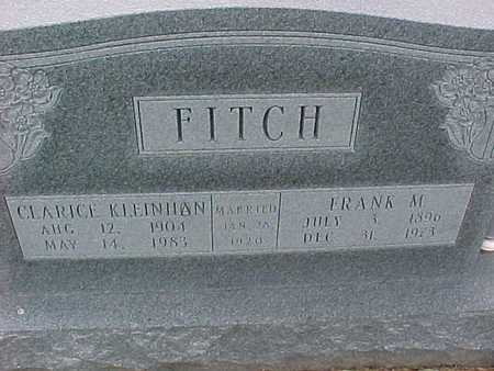 FITCH, FRANK - Henry County, Iowa | FRANK FITCH