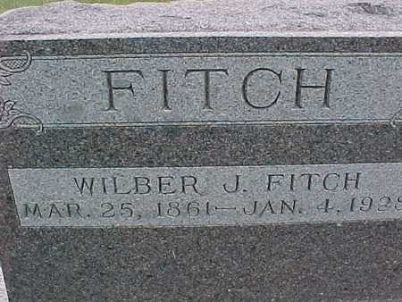 FITCH, WILBER J. - Henry County, Iowa   WILBER J. FITCH