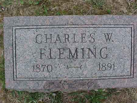 FLEMING, CHARLES - Henry County, Iowa | CHARLES FLEMING