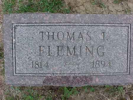 FLEMING, THOMAS - Henry County, Iowa | THOMAS FLEMING
