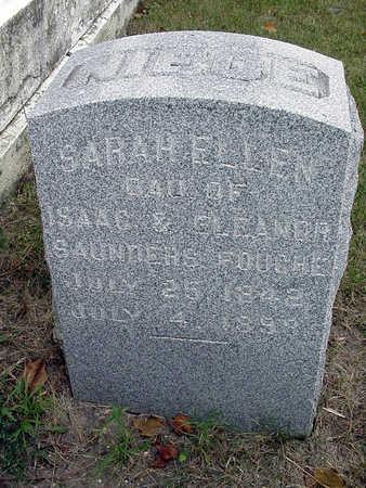 SAUNDERS FOUCHE, SARAH ELLEN - Henry County, Iowa | SARAH ELLEN SAUNDERS FOUCHE