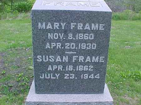 FRAME, MARY - Henry County, Iowa | MARY FRAME